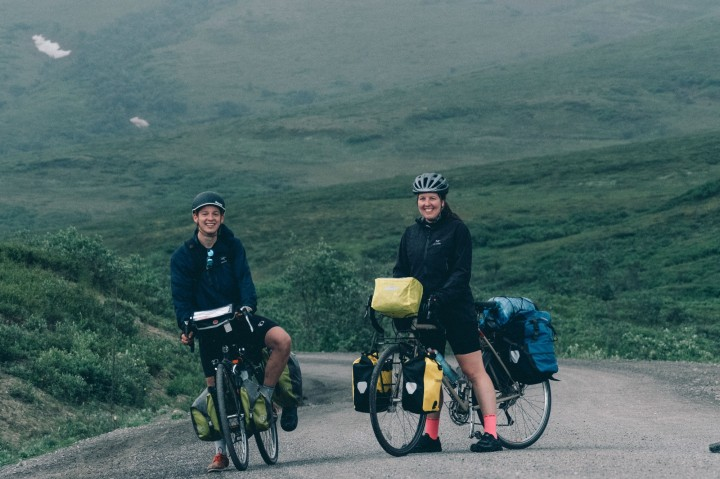 Season 4 Ep. 9: Dia-Cycling Across Alaska ft. Annalisa Van Den Bergh and Erik Douds